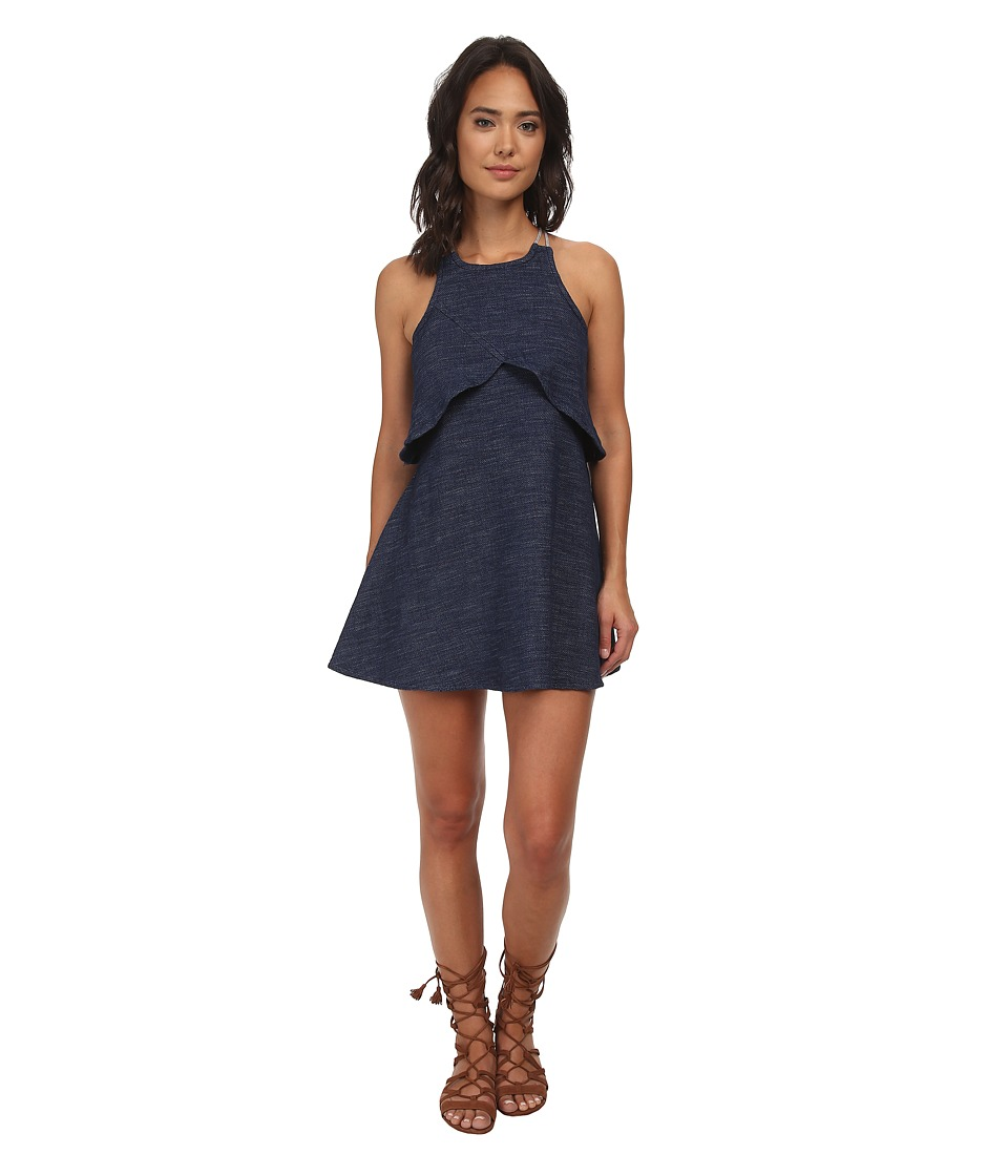 Free People - Cotton Blue Sapphire Dress (Denim Blue) Women's Dress