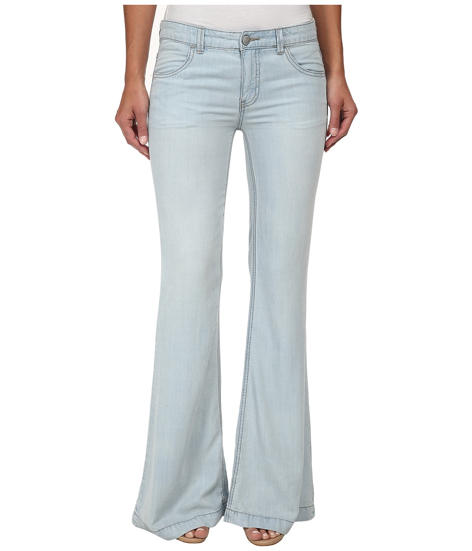Free People - Denim Tencel Flare (Beryl) Women's Jeans