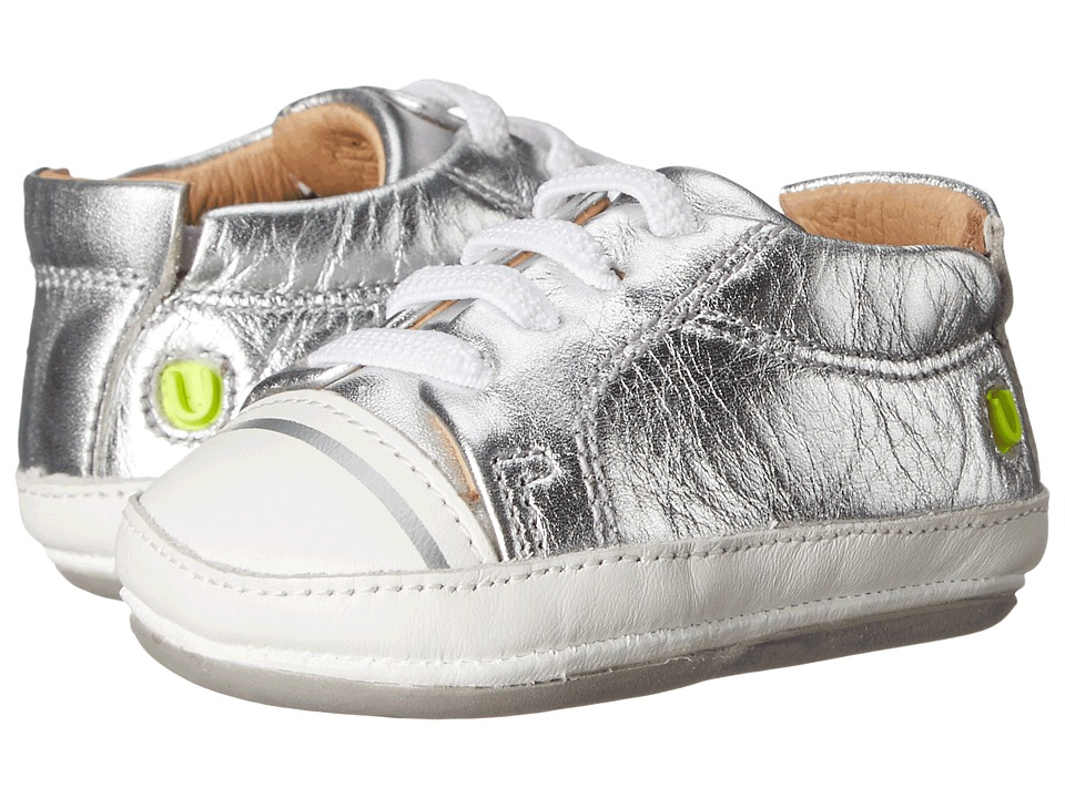 Umi Kids - Lex (Infant/Toddler) (Silver) Kids Shoes