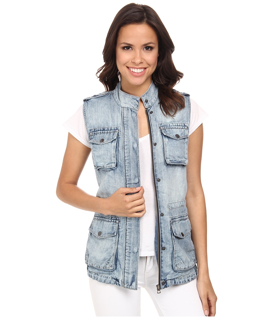 Lucky Brand - Military Vest (South Curl) Women