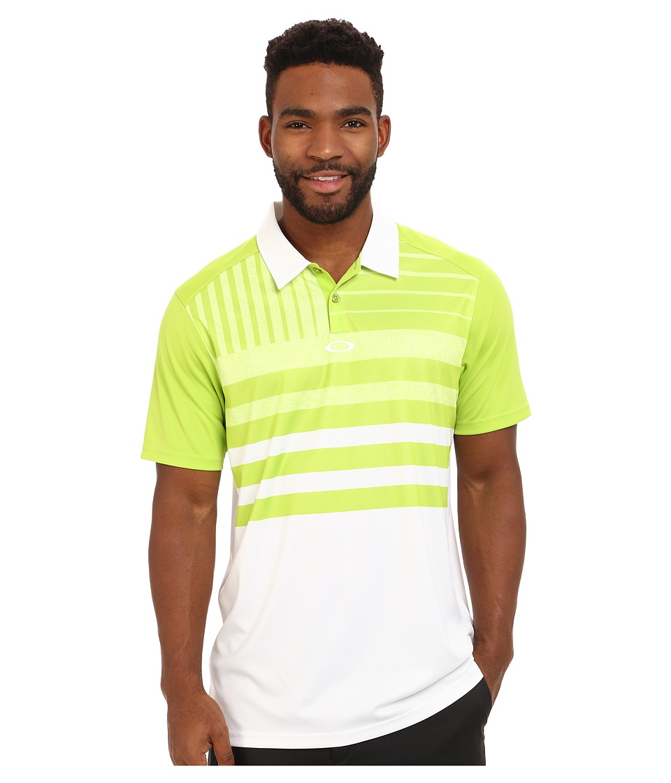 Oakley - Trestles Polo (Wild Lime) Men's Clothing