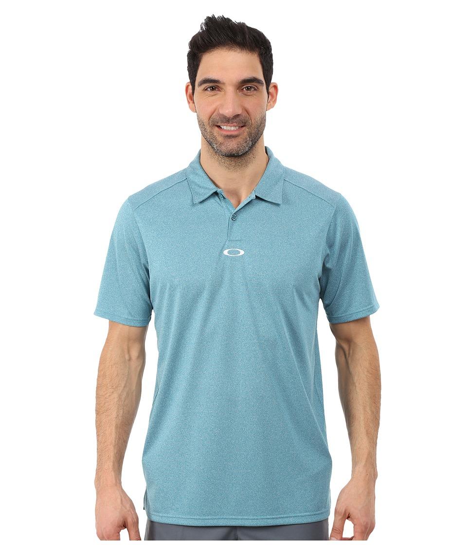 Oakley - Adams Polo (Aurora Blue) Men's Clothing