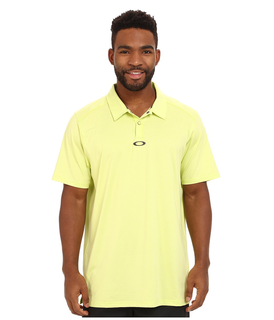 Oakley - Newlyn Polo (Wind Lime) Men's Short Sleeve Knit