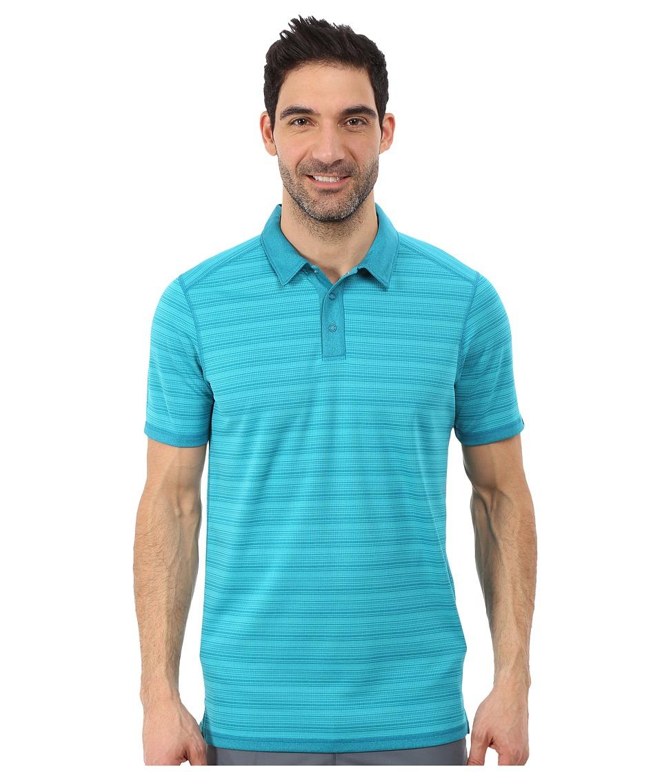 Oakley - Highland (Reversible) Polo (Aurora Blue) Men's Clothing