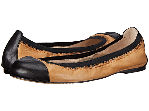 Vince Camuto - Impella (Honey Bee/Black) Women's Flat Shoes
