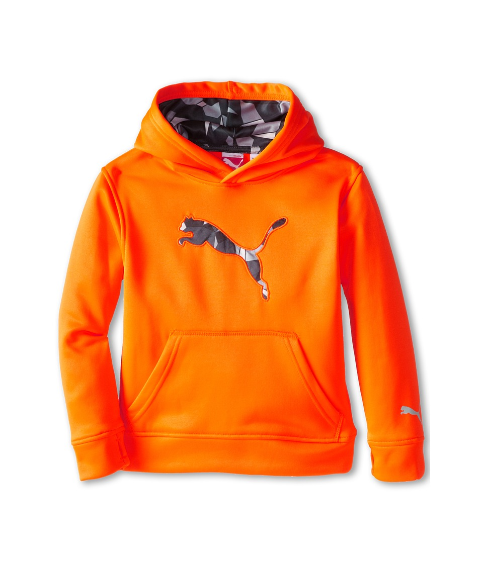 Puma Kids - Big Cat Hoodie (Little Kids) (Fire Orange) Boy's Sweatshirt