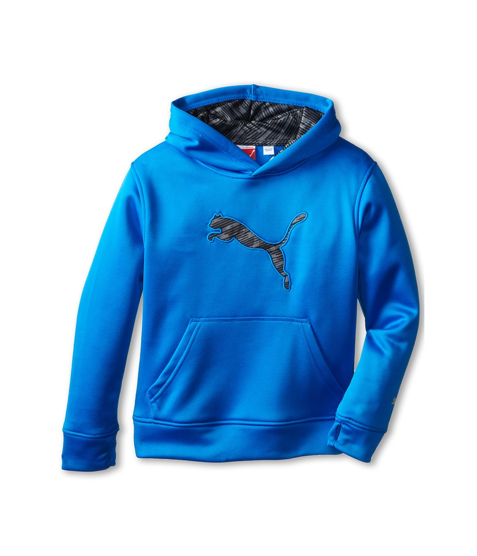 Puma Kids - Big Cat Hoodie (Little Kids) (Sky Blue) Boy's Sweatshirt