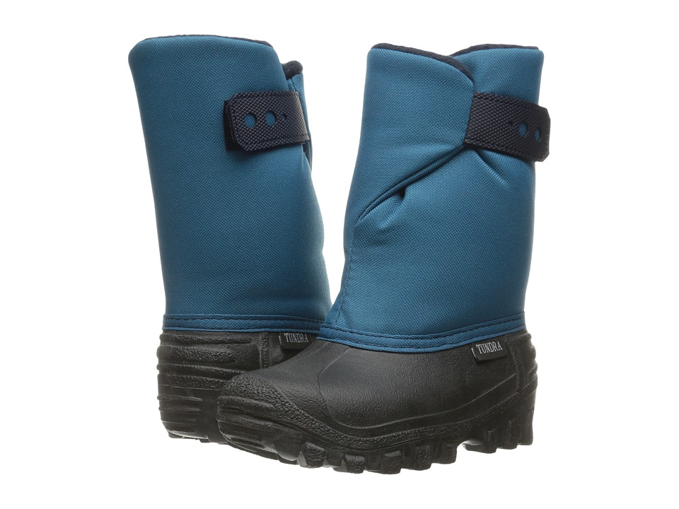 Tundra Boots Kids - Teddy (Toddler/Little Kid) (Teal/Navy) Kids Shoes