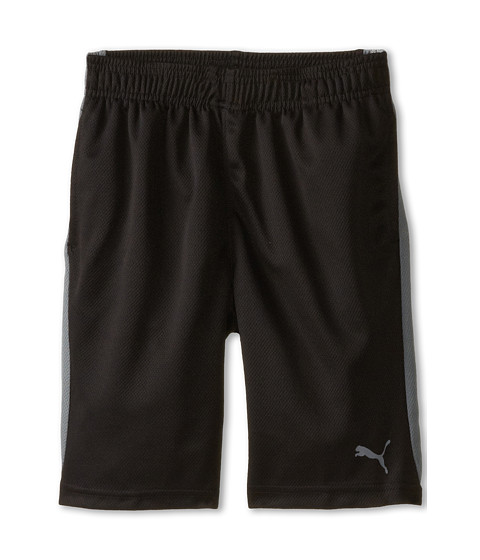 Puma Kids - Form Stripe Shorts (Big Kids) (PUMA Black) Boy
