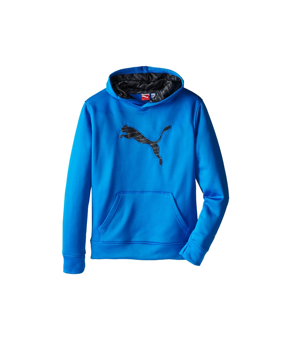 Puma Kids - Big Cat Hoodie (Big Kids) (Sky Blue) Boy's Sweatshirt