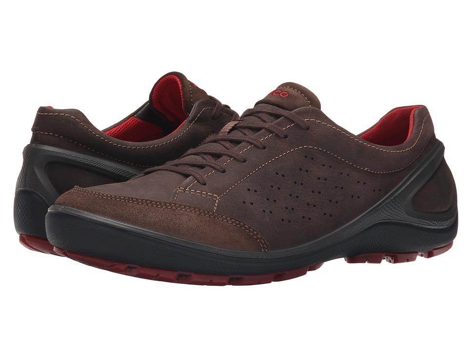 Ecco Performance Biom Grip Mens Dark Coffee Sneakers