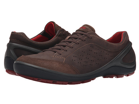 Ecco Performance - Biom Grip (Dark Clay/Coffee) Men