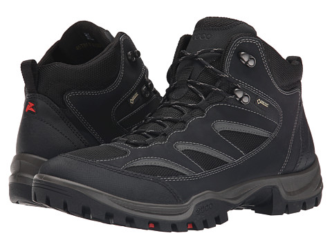 Ecco Performance - Drak Mid GTX (Black/Black) Men's Shoes