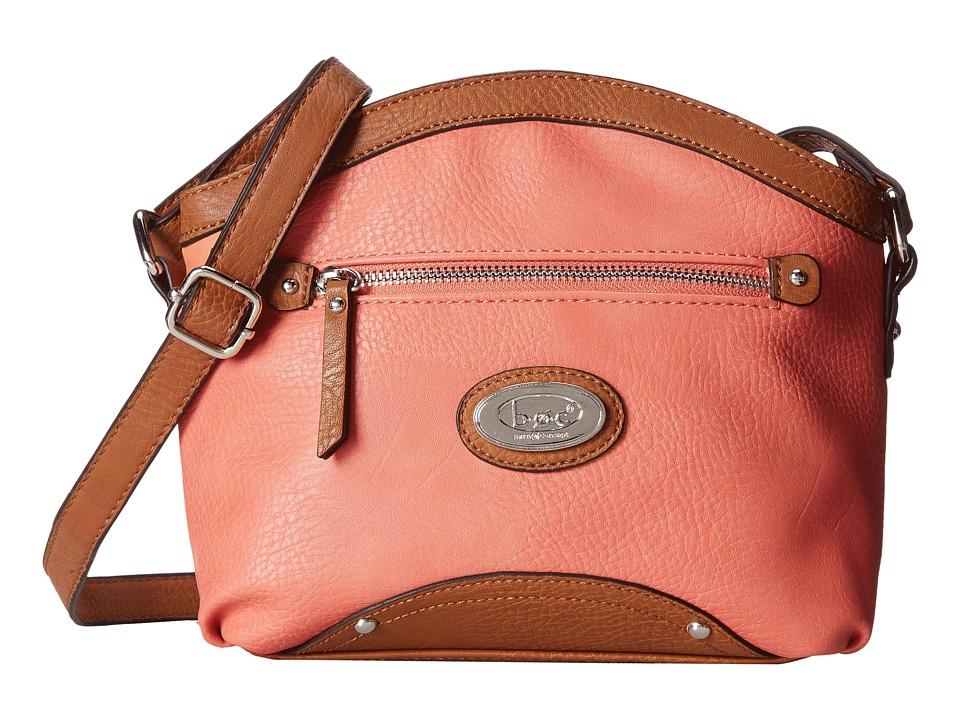 b.o.c. - Bingham Dome Crossbody (Coral) Cross Body Handbags