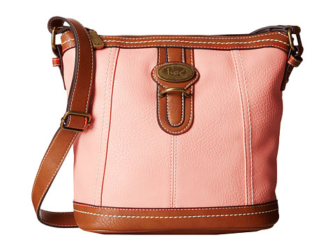 b.o.c. - Sudbury Slip Tab Crossbody (Blush) Cross Body Handbags