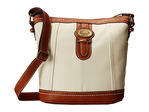 b.o.c. - Sudbury Slip Tab Crossbody (Bone) Cross Body Handbags