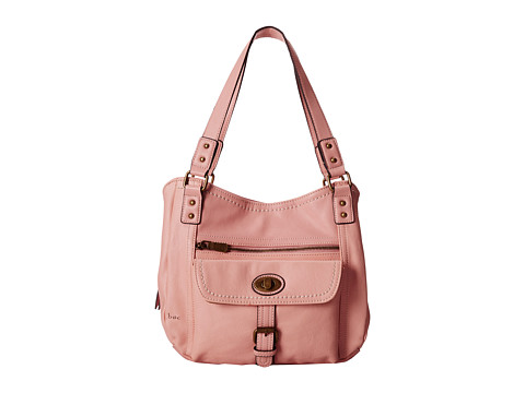 b.o.c. - Pembroke Turnlock Tote (Blush) Tote Handbags