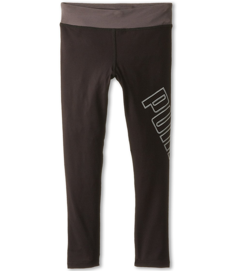 Puma Kids - Tech Leggings (Little Kids) (PUMA Black) Girl's Casual Pants