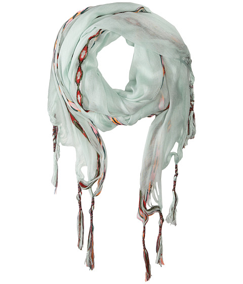 Gabriella Rocha - Aztec Print Scarf (Light Green) Scarves