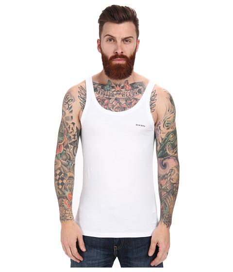 Diesel - Bale Singlet BAHF (White) Men's Sleeveless