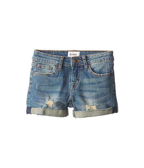 Hudson Kids - Boyfriend Shorts in Splatter Dark (Big Kids) (Splatter Dark) Girl's Shorts