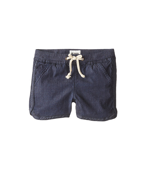 Hudson Kids - Jog Shorts in Blue Danube (Little Kids) (Blue Danube) Girl