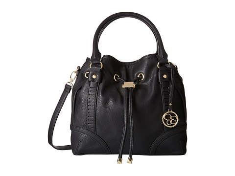 Jessica Simpson - Erica Drawstring (Black) Shoulder Handbags
