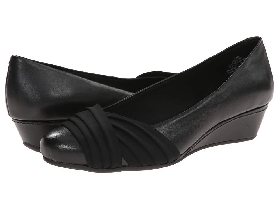 Easy Spirit - Dayna (Black 2/Black Leather) Women