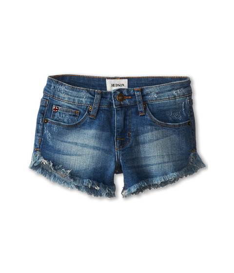 Hudson Kids - Slouch Shorts in Hawaiian Ocean (Big Kids) (Hawaiian Ocean) Girl