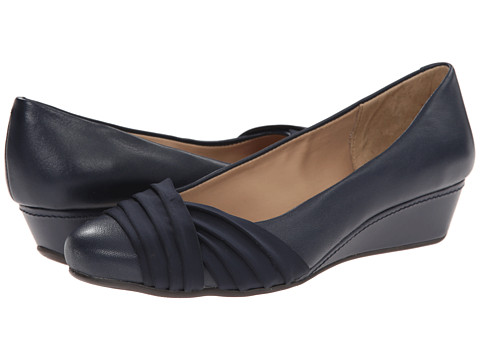 Easy Spirit - Dayna (Navy/Navy Leather) Women