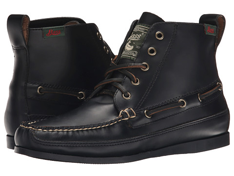 Bass - Sahara-1 (Black Velour Suede) Women's Boots