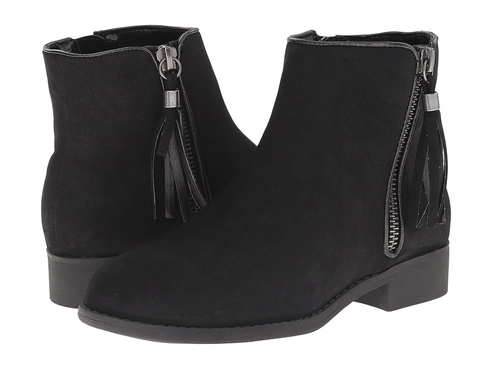 Nina Kids - Puffie (Little Kid/Big Kid) (Black Nubuck) Girls Shoes