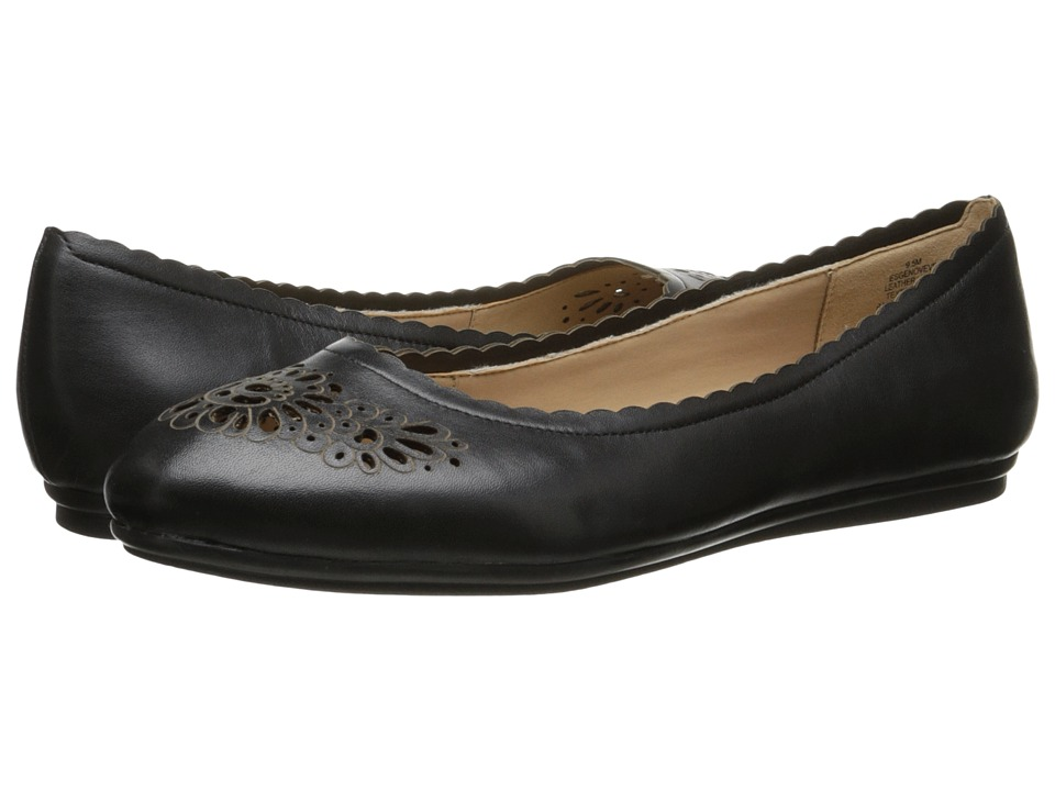 Easy Spirit - Genoveve (Black Leather) Women
