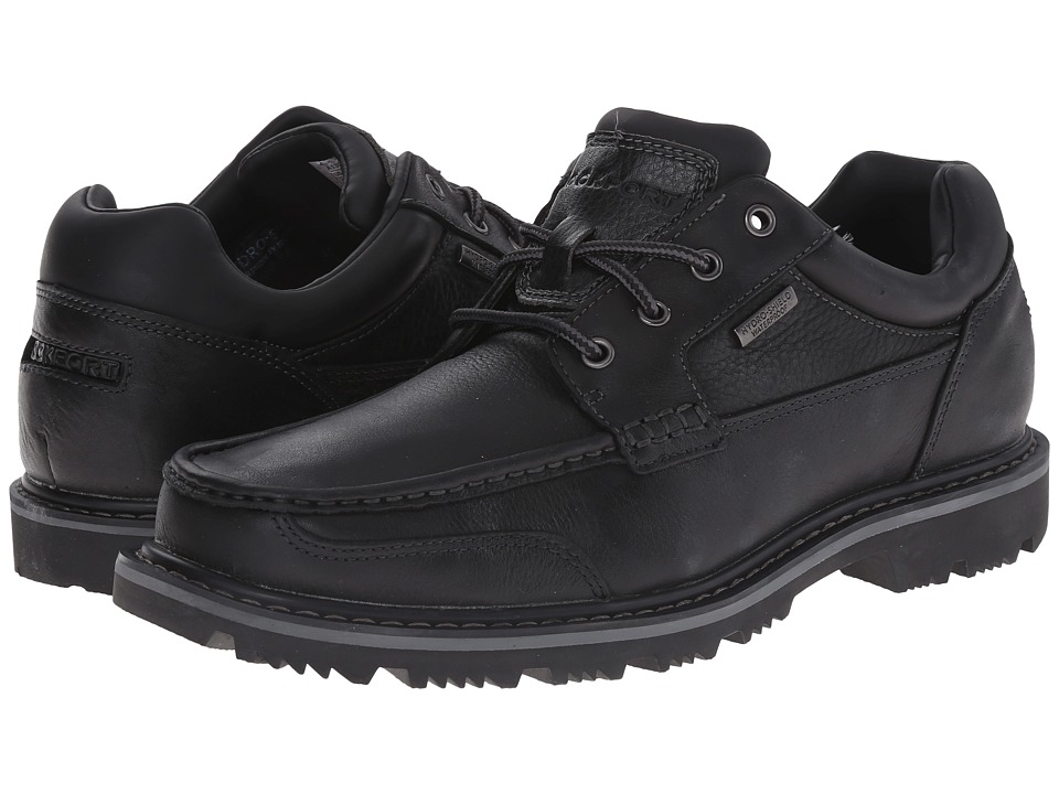 Rockport - Gentlemen's Boot Moc Oxford Waterproof (Black) Men's Waterproof Boots