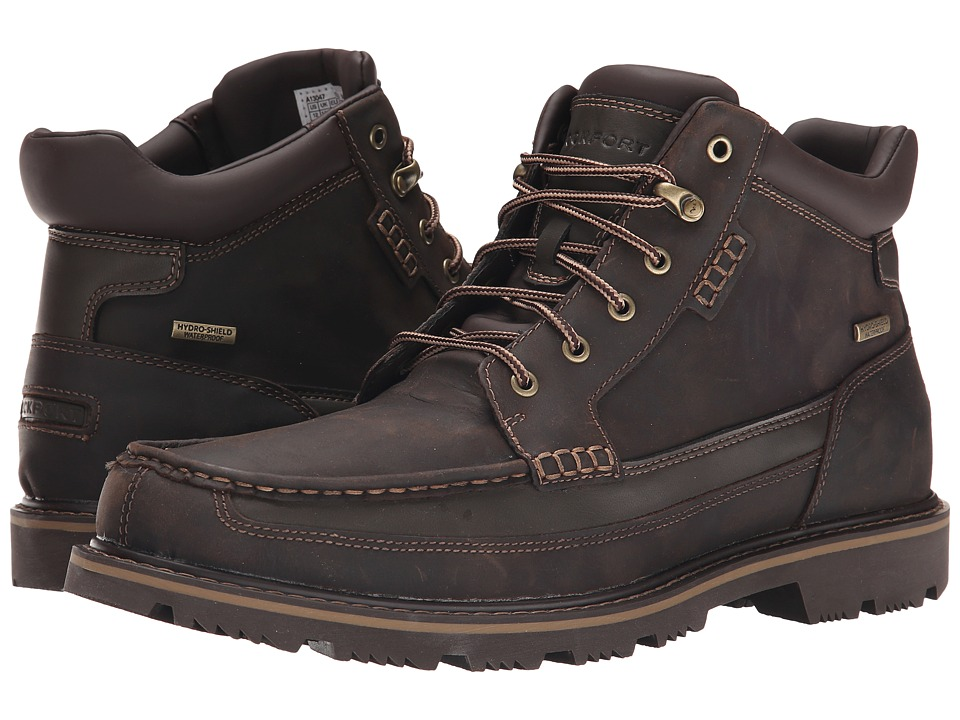 Rockport - Gentlemen's Boot Moc Mid Waterproof (Brown) Men's Waterproof Boots