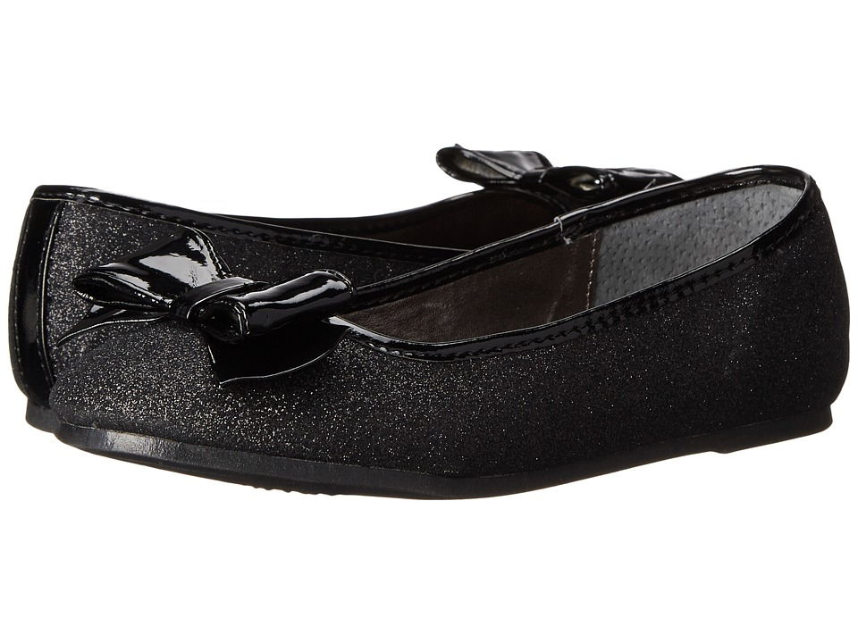 Nina Kids - Doris (Little Kid/Big Kid) (Black Baby Glitter) Girls Shoes