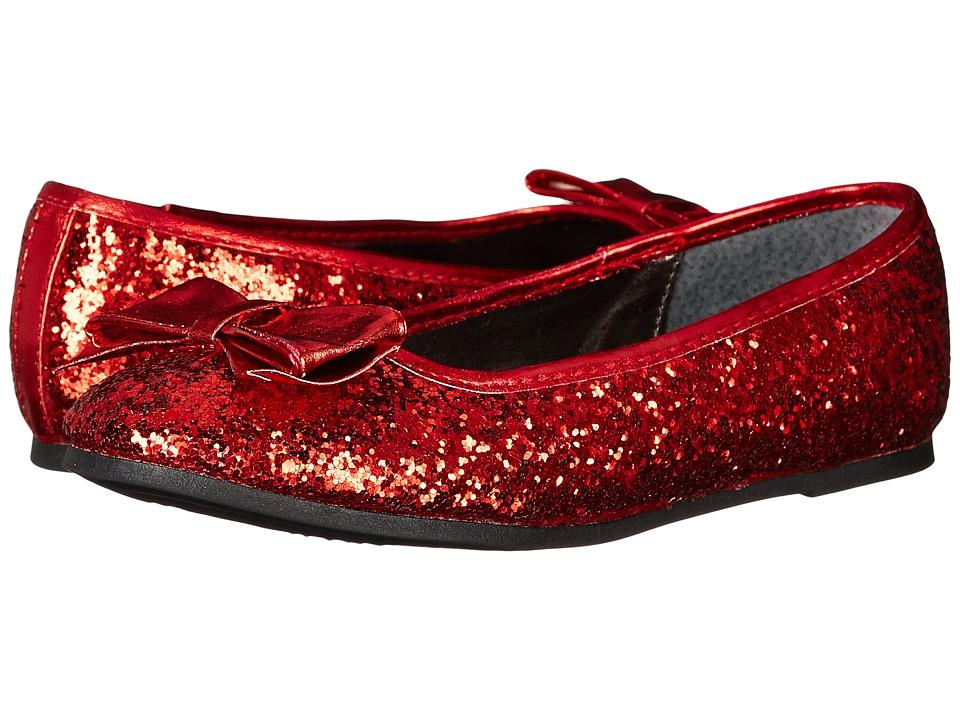 Nina Kids - Doris (Little Kid/Big Kid) (Red Chunky Glitter) Girls Shoes