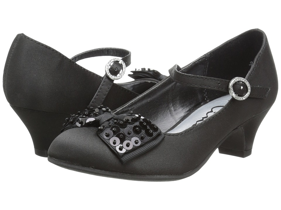 Nina Kids - Lizette (Little Kid/Big Kid) (Black Satin) Girl