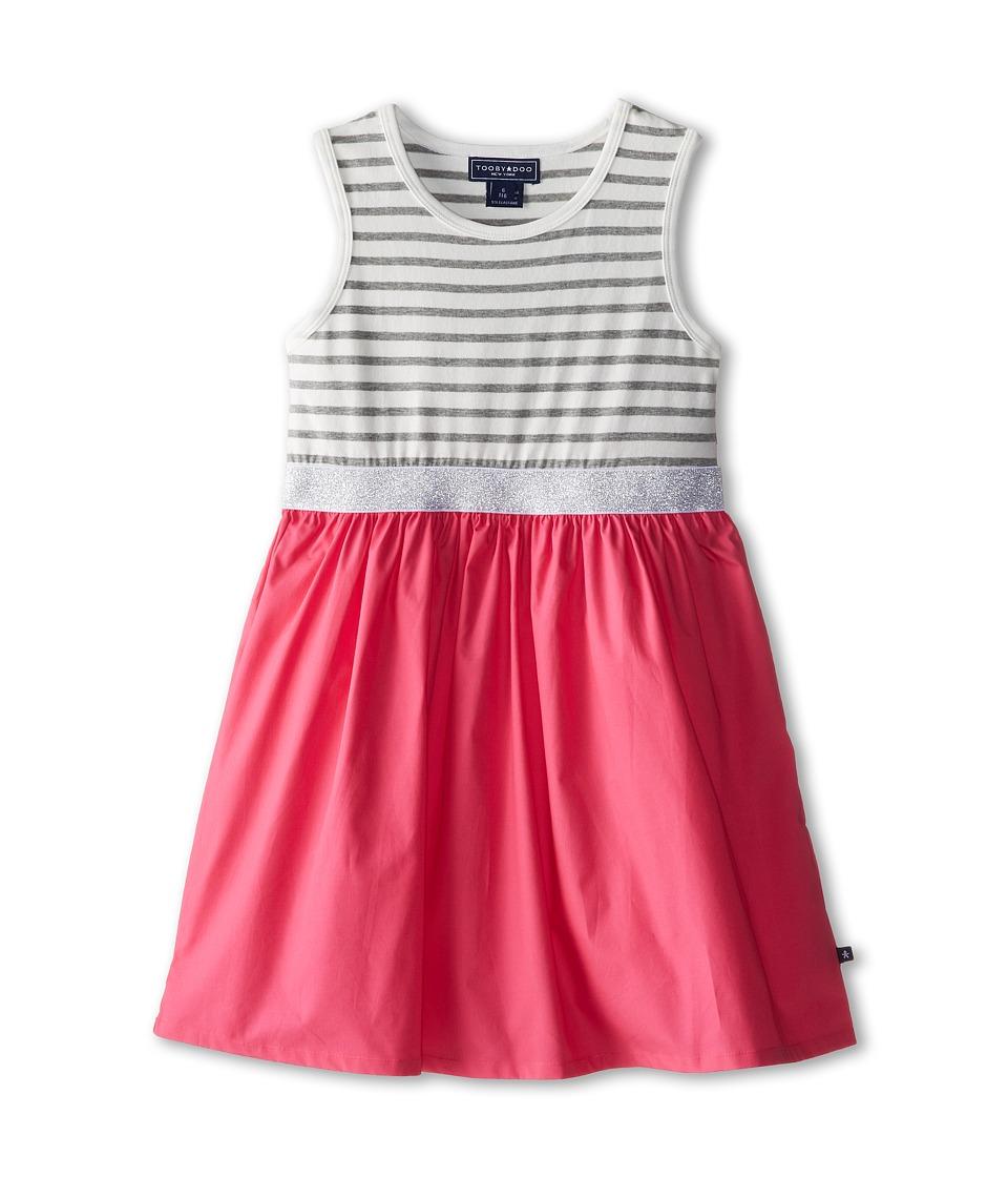 Toobydoo - Garden Party Dress (Little Kids/Big Kids) (Pink 1) Girl