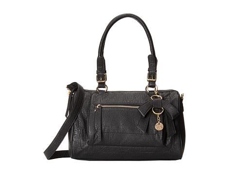 Jessica Simpson - Alicia Satchel (Black) Satchel Handbags