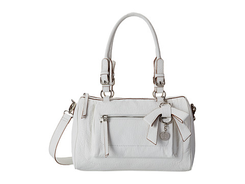 Jessica Simpson - Alicia Satchel (White) Satchel Handbags