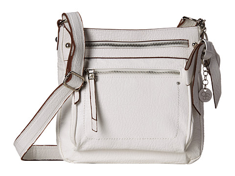 Jessica Simpson - Alicia Crossbody (White) Cross Body Handbags