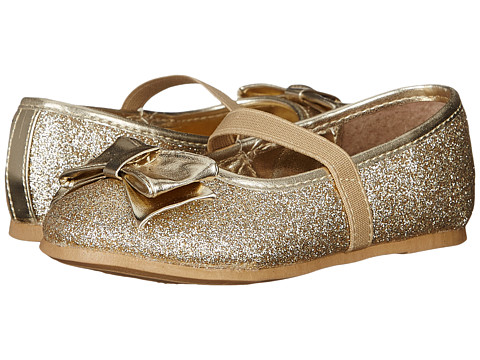 Nina Kids - Doris-T (Toddler/Little Kid) (Gold Baby GLitter) Girls Shoes