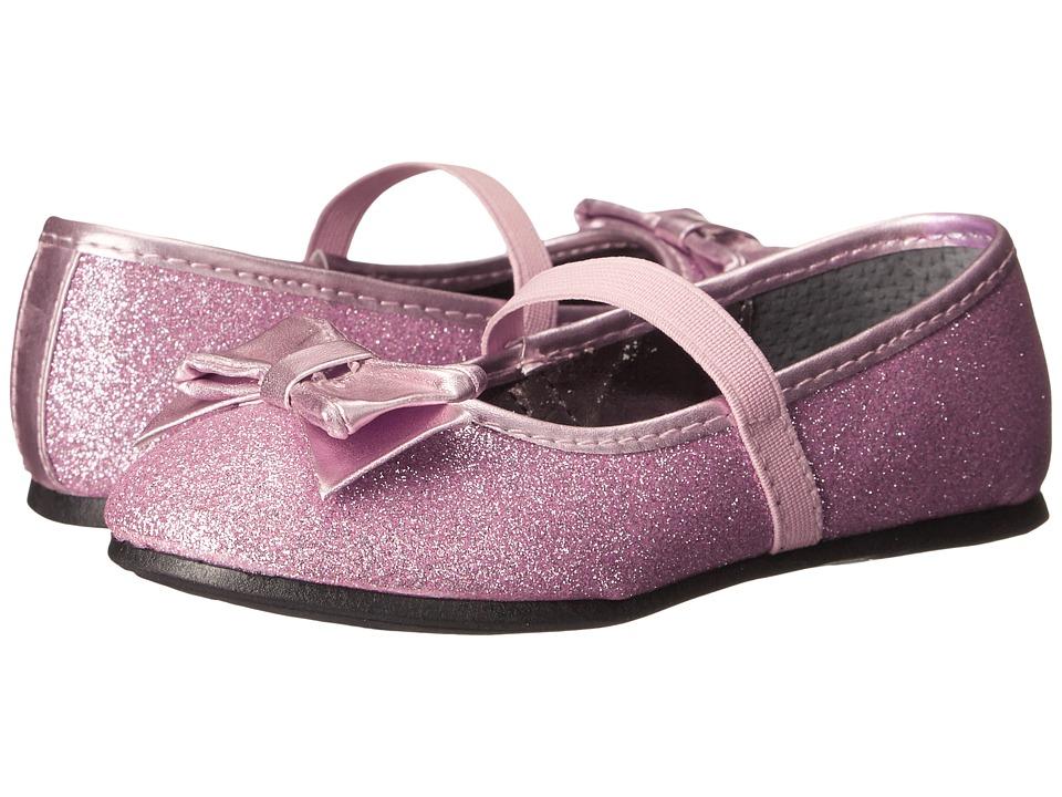 Nina Kids - Doris-T (Toddler/Little Kid) (Pink Baby Glitter) Girls Shoes
