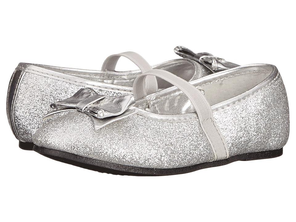 Nina Kids - Doris-T (Toddler/Little Kid) (Silver Baby Glitter) Girls Shoes