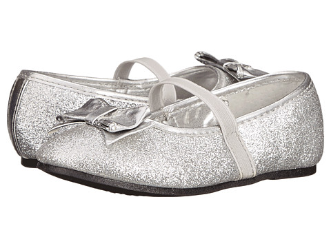 Nina Kids - Doris-T (Toddler/Little Kid) (Silver Baby Glitter) Girls Shoes