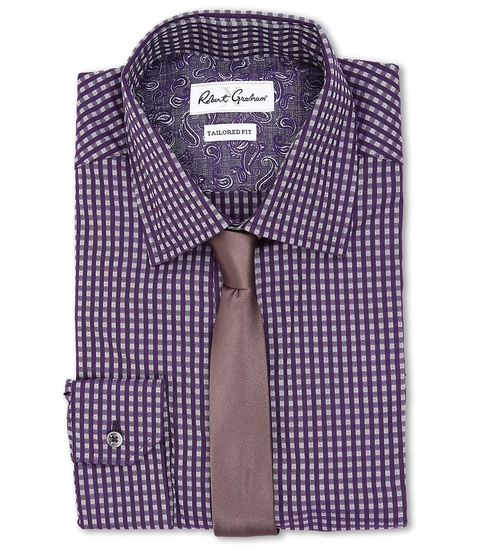 Robert Graham - Asti Dress Shirt (Purple) Men's Long Sleeve Button Up