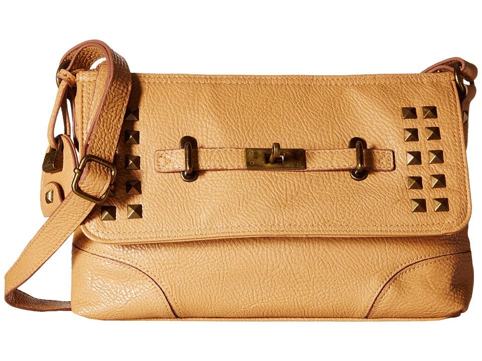 Jessica Simpson - Annetta Crossbody (Camel) Cross Body Handbags