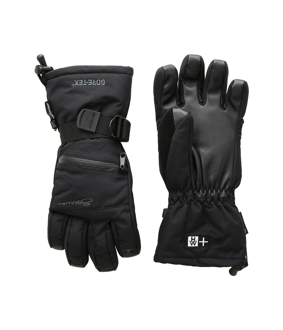 Seirus - Heatwave Gore-Tex(r) Plus Gleam Glove (Black) Ski Gloves