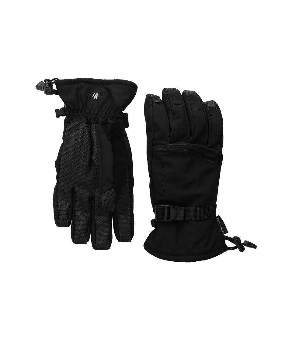 Seirus Heatwave Plus Frame Glove (Black) Ski Gloves